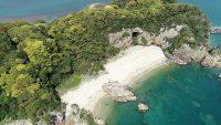 門川の無人島・乙島キャンプ場がシルバーウイーク限定でオープン